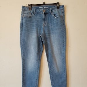 Old Navy Rockstar Mid Rise 12 A jeans